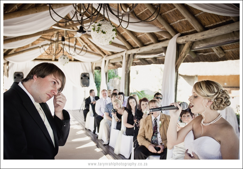 Chanel and Morne Wedding