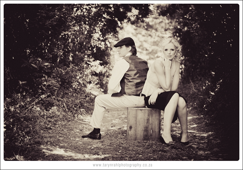 Lara Jane and Michael | vintage couples shoot