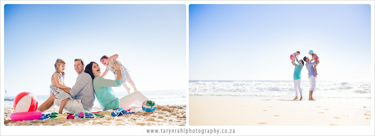 Du Toit family - beach outing